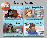 Sensory Bundle - Animated Step-by-Step Crafts - PCS