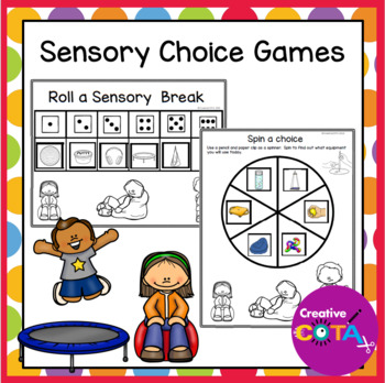 Sensory Choice Games