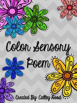 Sensory Color Poetry