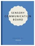 Sensory Communication Board