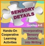 Sensory Detail Puzzle and Descriptive Writing Activities: