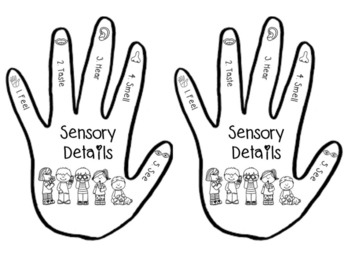 Sensory Details Helping Hand