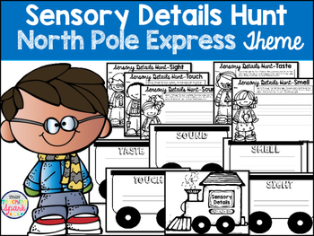 Sensory Details Hunt with the North Pole Express