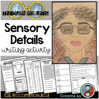Back to School Writing Activity - Sensory Details; ESL/ELL Recommended