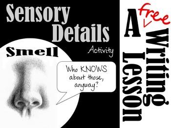 Sensory Details Writing Activity- Smell