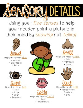 Sensory Details Writing Unit