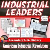 Industrial Leaders Sensory Figure Project Industrial Revolution Print or Digital