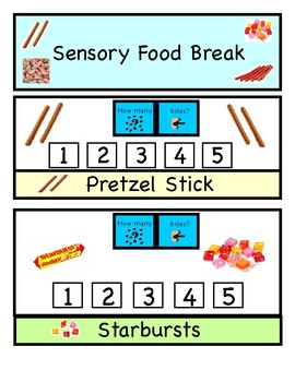 Sensory Food Break For Oral Motor Input (Speech, Autism, OT)