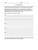 Sensory Imagery Worksheet