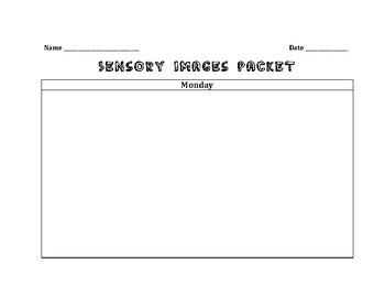 Sensory Images Practice