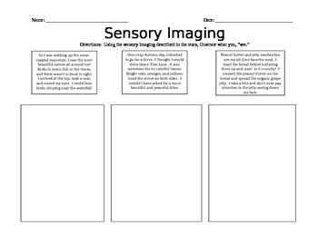 Sensory Imaging!