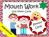 Oral Motor Work - Two Sided Cards