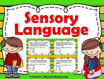 Sensory Language - Imagery Task Cards