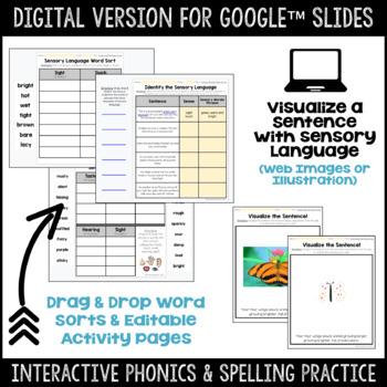 Sensory Language Mentor Text Resource - Where Butterflies Grow