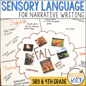 Sensory Language Narrative Writing Mini-lessons Unit