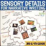 Sensory Language Narrative Writing Mini-lessons Unit