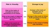 Sensory Language: Paint Chip Activity