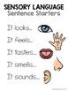Sensory Language Posters (FREE)