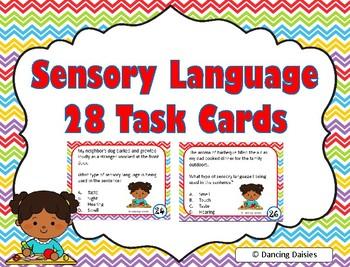 Sensory Language Task Cards
