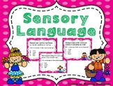 Sensory Language Task Cards - Set 2