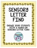 Sensory Letter Find