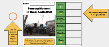 Sensory Moment in Time: Fall of the Berlin Wall (Google Drawing Activity!)