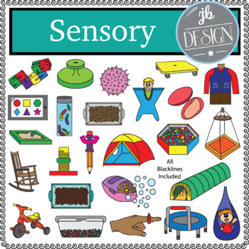 Sensory Pack (JB Design Clip Art for Personal or Commercial Use)