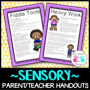 Sensory: Parent/Teacher Handouts