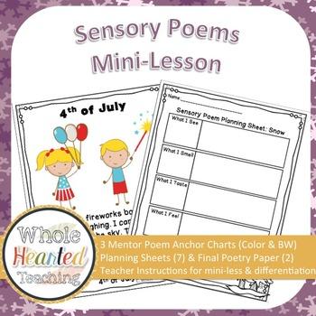 Sensory Poems