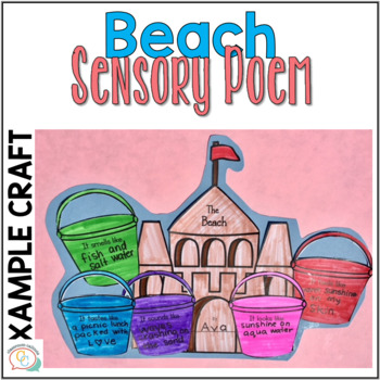 Sensory Poetry  Activities & Craftivities A Fun Poetry Unit
