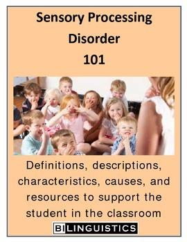 Sensory Processing Disorder 101