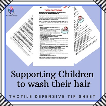 Sensory Processing - Tactile Defensive - Children Resisten