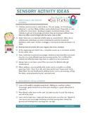 Sensory Processing Tip Sheets