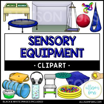 Sensory Room Equipment Clip Art