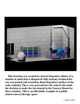 Sensory Room Example in a Public School for Autism