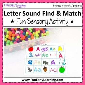 Letter Sound Find and Match