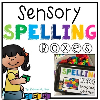 Sensory Spelling Boxes