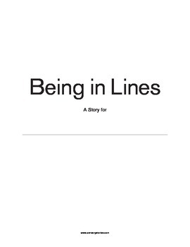 Sensory Stories PDF Being in Lines
