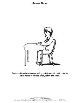 Sensory Stories PDF Desk Time