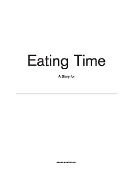 Sensory Stories PDF Eating Time