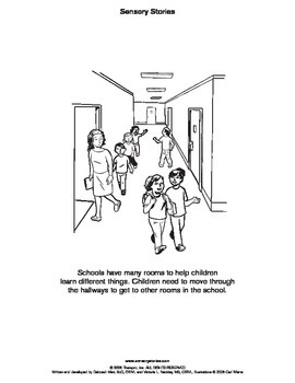 Sensory Stories PDF Moving in the School
