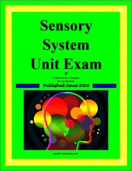 Sensory System Exam