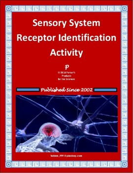 Sensory System Receptor Identification Activity