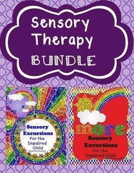 Autism Multiple Disabilities Sensory Lesson Plans BUNDLE {Special Needs}