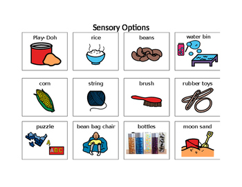 Sensory Time Option Board