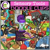 Sensory Tools Clipart