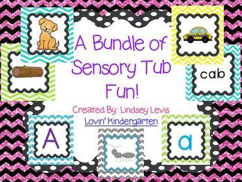 Sensory Tub Activities {BUNDLE}