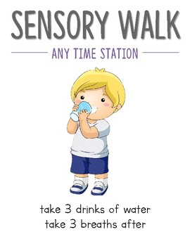 Sensory Walk Posters