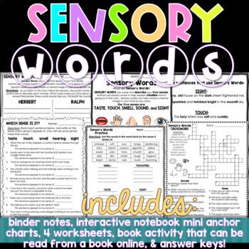 Sensory Words