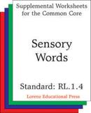 Sensory Words (CCSS RL.1.4)